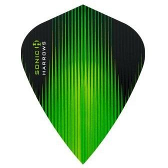 Harrows Sonic Kite Green Dart Flights