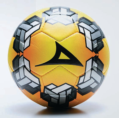 Image of 52023 Pirma Soccer Ball - Yellow/Black
