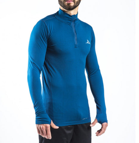Image of 59179 Men's Training Sweatshirt- Blue