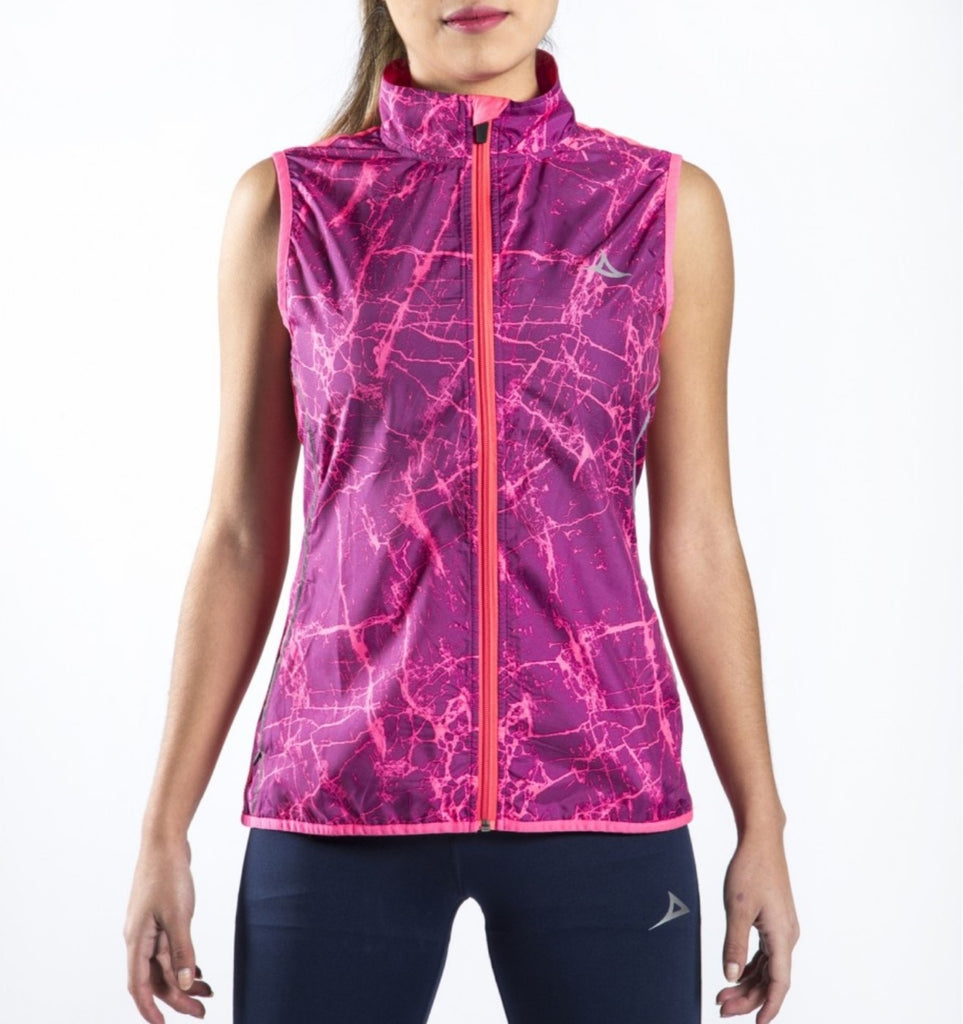 59190 Women's Light Wind Vest - Pink