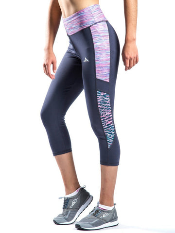 73064 Women's Yoga Capri Pants - Oxford