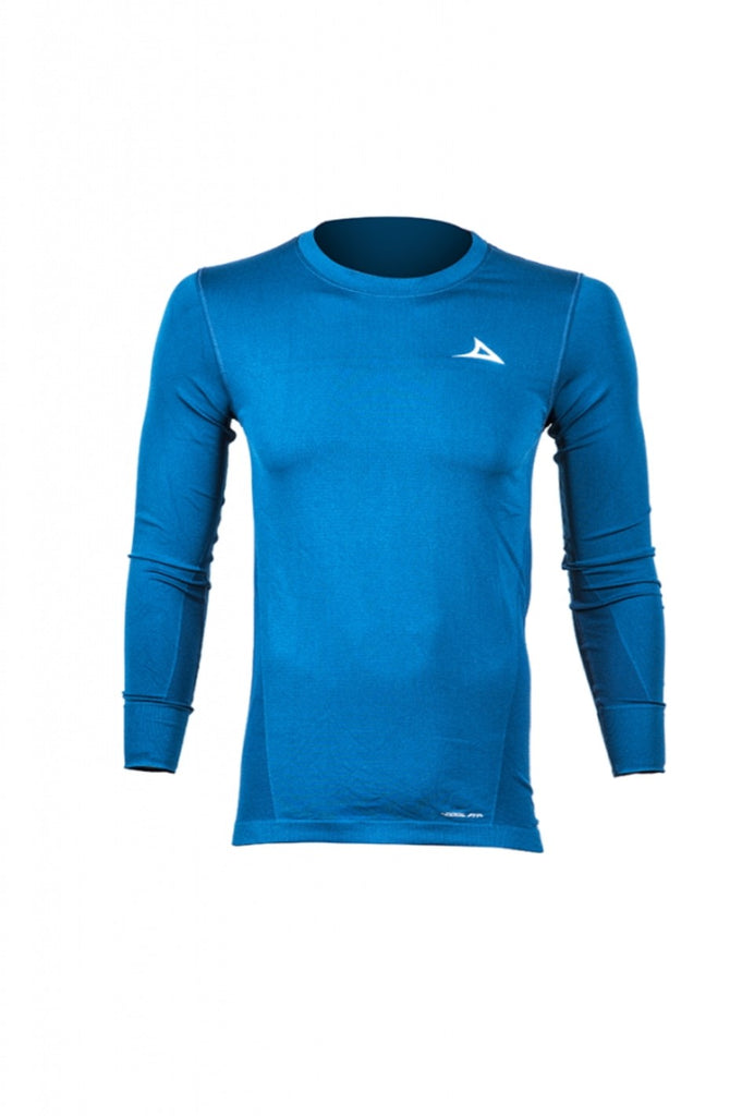 78153 Men's Long Sleeve Active Shirt - Blue
