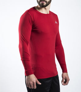 78153 Men's Long Sleeve Active Shirt - Red