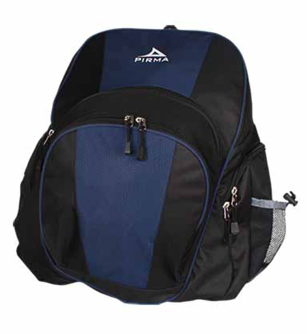 9189 Pirma Soccer Backpack - Black/Navy
