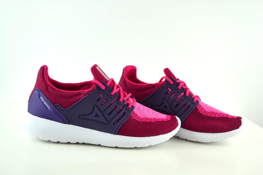0245  Fuchsia/Purple Girls Shoes
