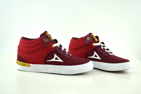 0124 Burgundy Boys Shoes