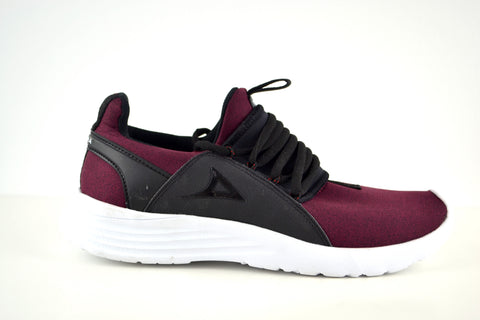 0065 Burgundy Women Shoes