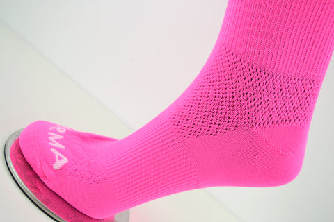 Image of Neon Pink Pirma Socks