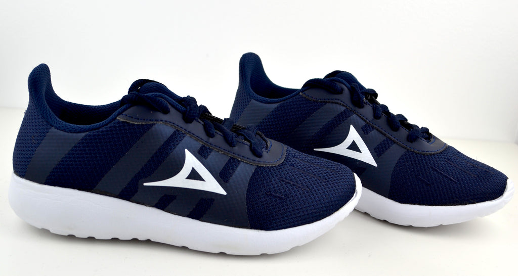 5502 Navy Boys Shoes