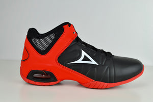 0795 Black/Red Basketball Men Shoes