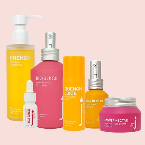 Skin Juice natural cruelty free skincare for dry or dehydrated skin