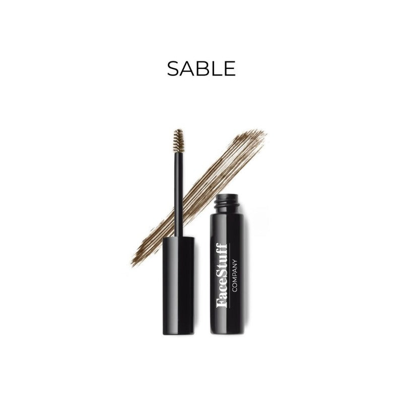 Brow Tint w fibres Sable from FaceStuff Co