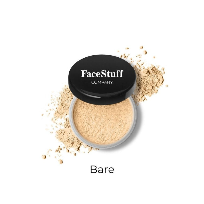 Loose Translucent Powder Bare from FaceStuff Co