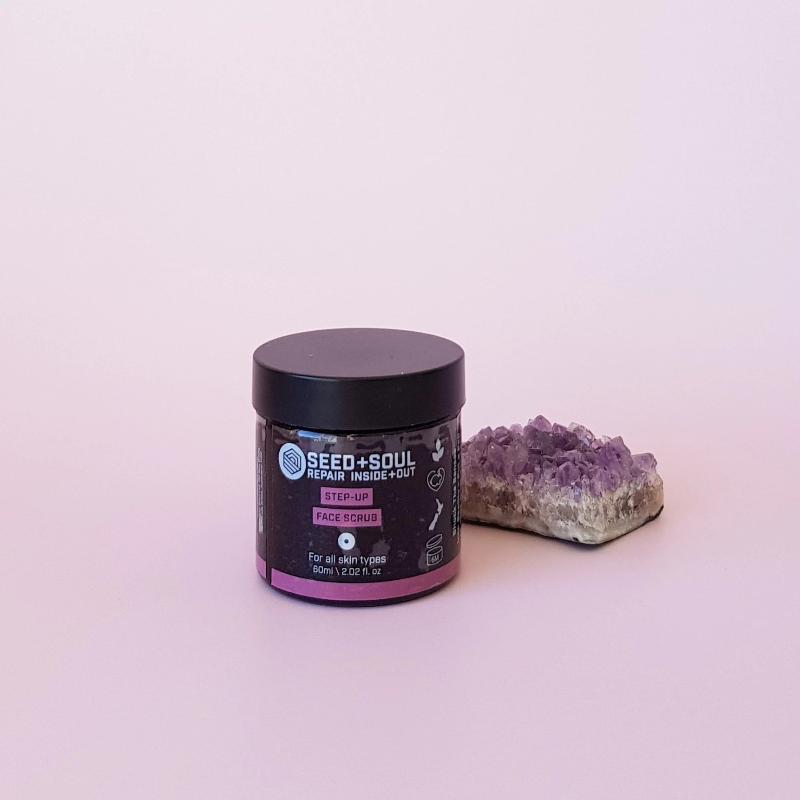 SEED + SOUL Step-Up Scrub | Cruelty free cosmetics and skincare online at FaceStuff Co