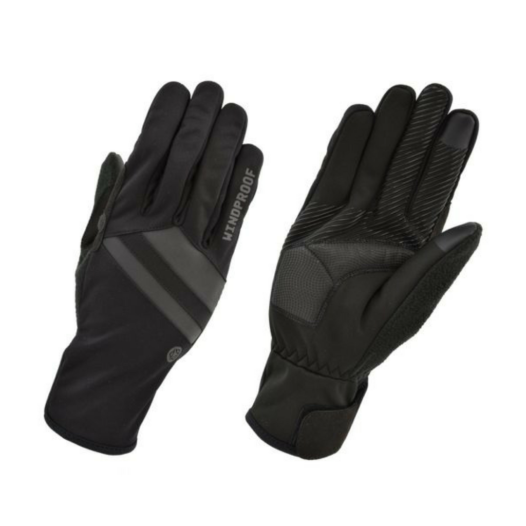 AGU HANDSCHOEN ESSENTIAL WINDPROOF BLACK