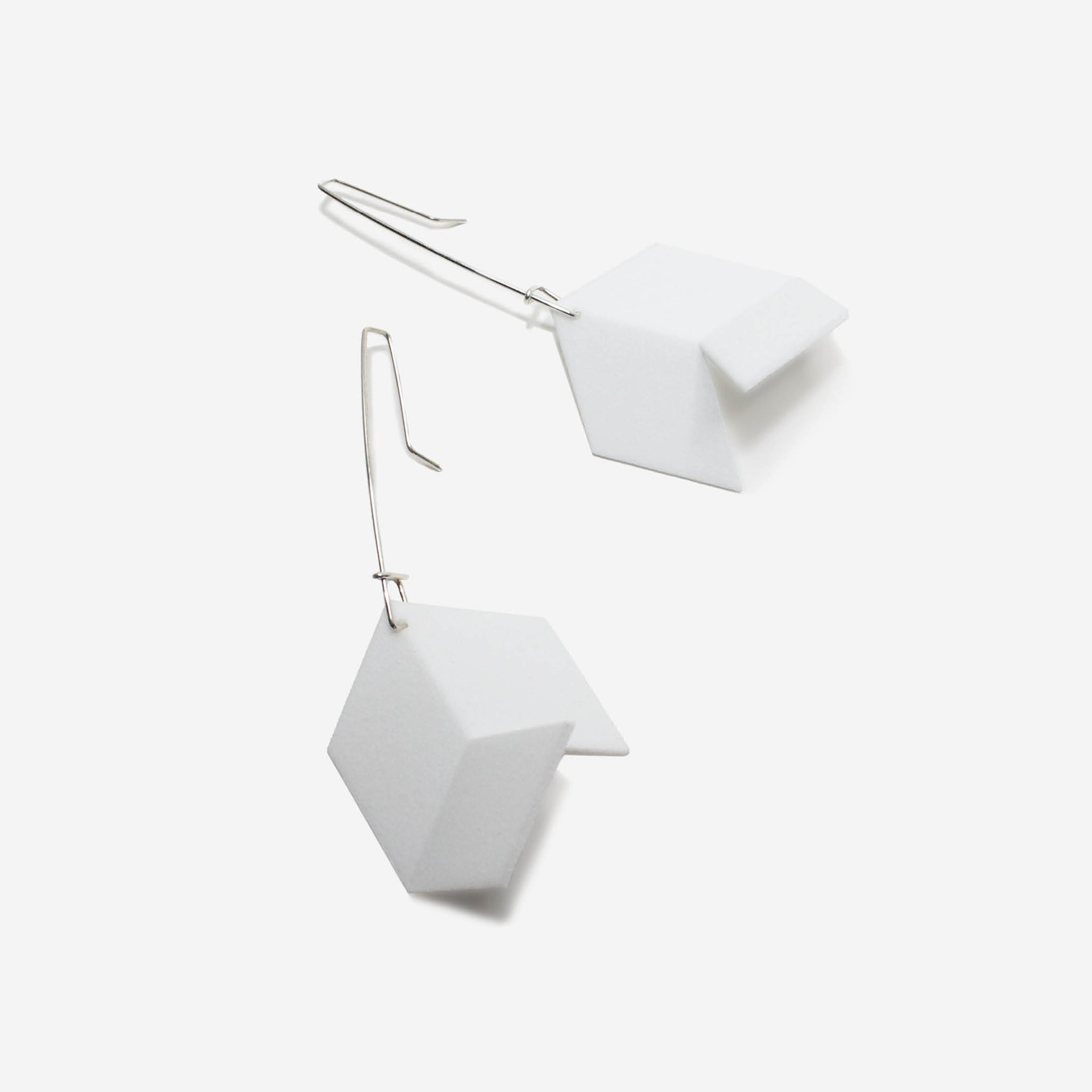 Infinite Earrings | White Noise