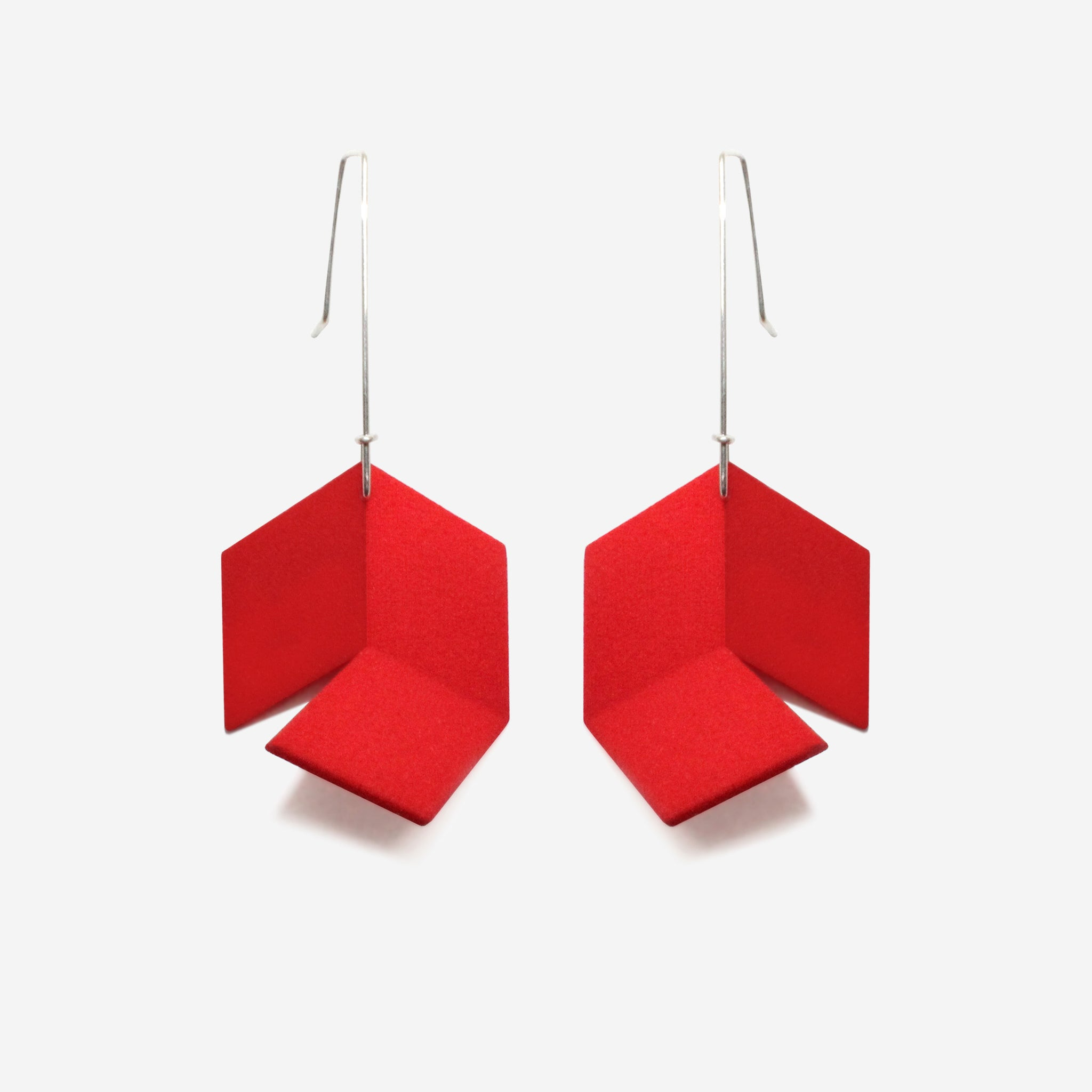 Infinite Earrings | Rad Red
