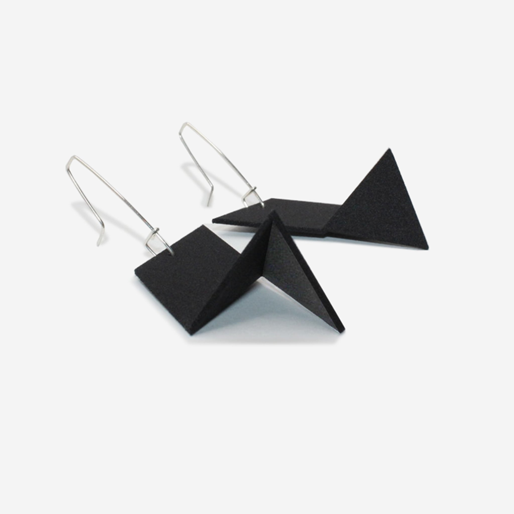 Racer Earrings | BPM Black