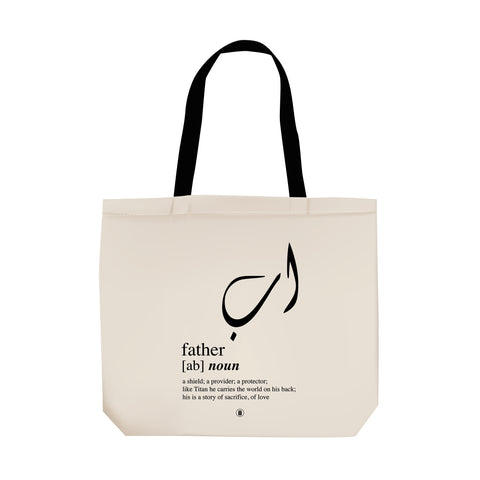Ab (Father) Tote Bag