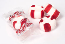 Load image into Gallery viewer, Red Bird Peppermint Candy Puffs 1000 Count Bulk - Clear Wrap