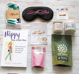 Milky Chic Gift Box for New Moms -10 Unique Postpartum Personal Care Items for Mothers-Mommy's Pampering Surprise Basket - After-Pregnancy Must-Haves for Mom