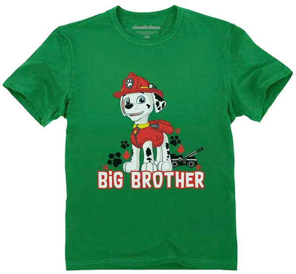 Official Paw Patrol Marshall Big Brother Toddler Kids T-Shirt