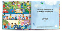 Going to Be a Big Sister Gift, Sibling New Baby, Hospital Gift, Personalized (Softcover)