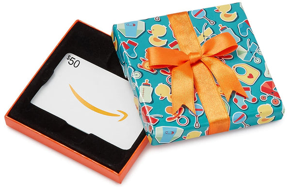 Amazon.com Gift Card in a Baby Icons Box