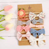 Baby Girl Headbands and Bows, Newborn Infant Toddler Hair Accessories by MiiYoung