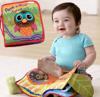 FGen 0-2 Years Old Baby Cloth Book, Male and Female Baby Interactive Toys, Touch and Feeling Activities