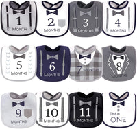 Hudson Baby Unisex Baby Holiday Bibs