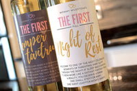 6 Mommy's First Milestone Wine Labels and Stickers, Great Baby Shower and Pregnancy Gift Ideas for Mom To Be, Funny Mom's First Moments After Having New Baby Girl or Boy – By Harper & Ivy Designs