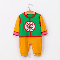 Cosplay Anime Naruto Dragon Ball Newborn Baby Child Crawling Suit Haber Cartoon Jumpsuit Bodysuit Pajamas Clothes