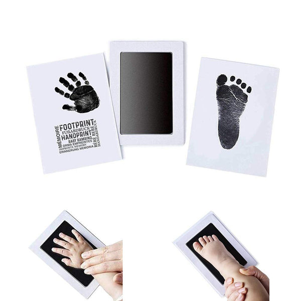 Safe Ink Pad Mess Free Inkless Baby Non-toxic Imprint Cards Stamp Newborn Souvenir Footprint Infant Handprint