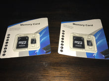 32Gb or 64Gb Micro SD card with adapter
