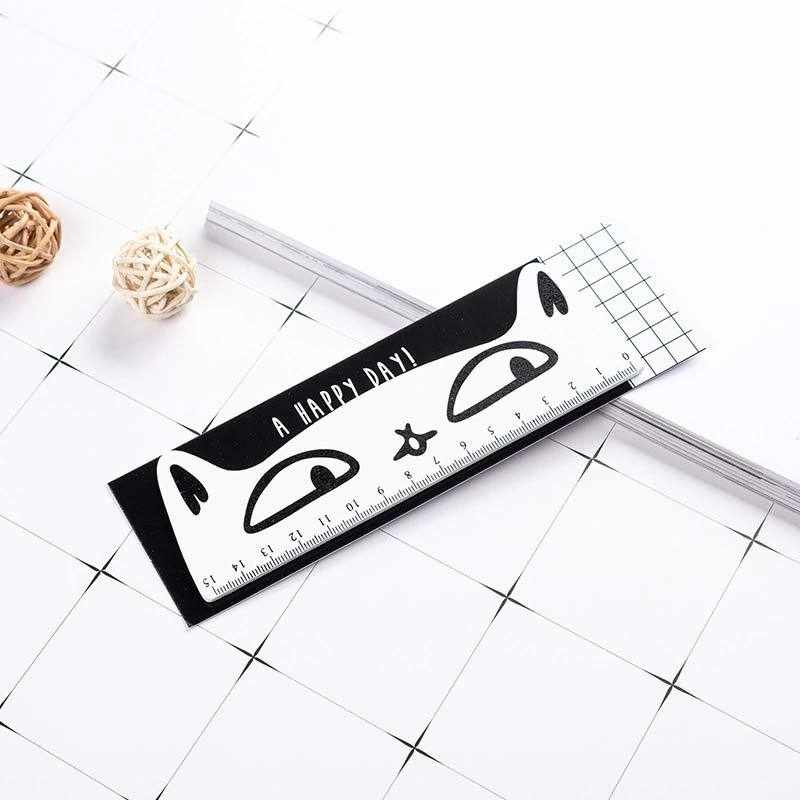Cat Wooden Ruler Set - PushCases
