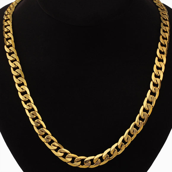 Gold/Silver Chunky Long Necklace