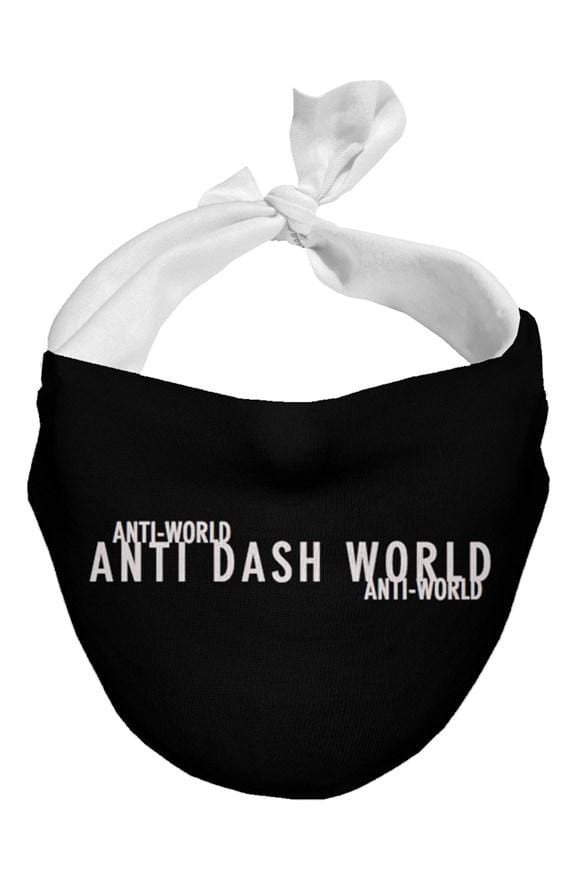 Anti-World wording Face Scarves - (3 Pack)