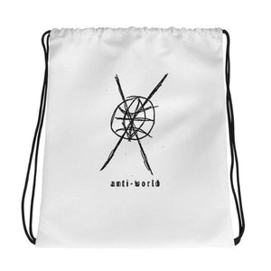 Anti-World Drawstring Bag