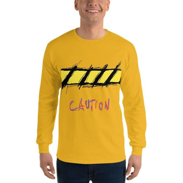 """Caution"" Long Sleeve T-Shirt"