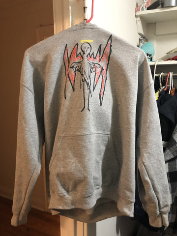"""Fallen Angel"" Hooded Sweatshirt"