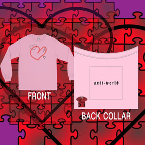 """Many Hearts"" Long Sleeve T-Shirt"