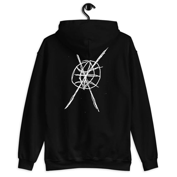 ANTI-WORLD Graphic Hoodie by Sybyr