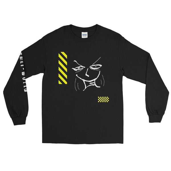 """Cranky With Caution"" Long Sleeve T-Shirt"