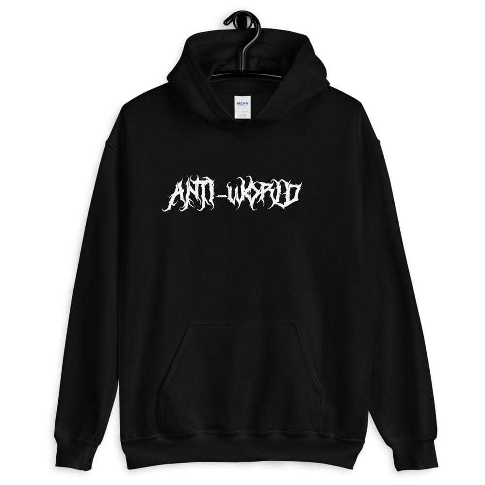 ANTI-WORLD Graphic Hoodie by Filthy