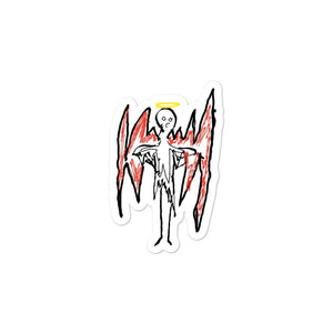 """Fallen Angel"" by Sybyr Stickers"