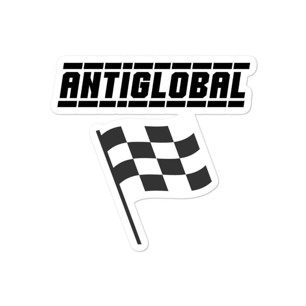 """ANTIGLOBAL"" Bubble-Free Stickers"