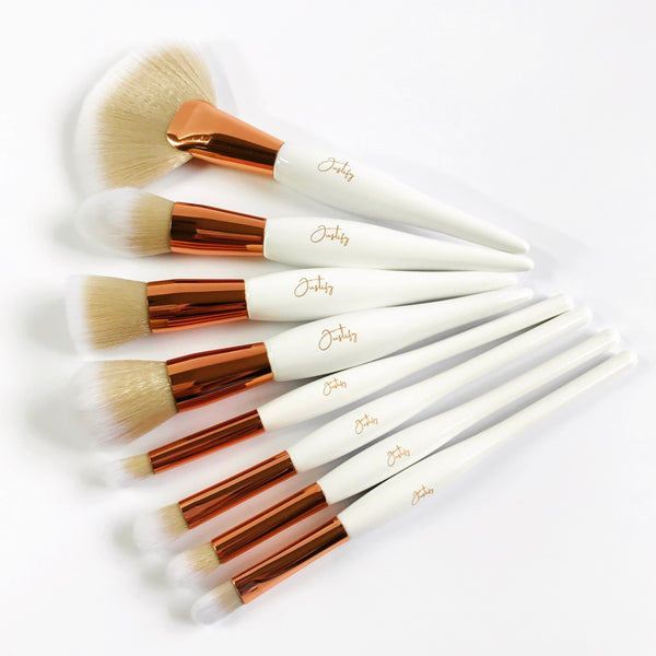 Signature Brush Set with CaseBrush SetJustify Beauty