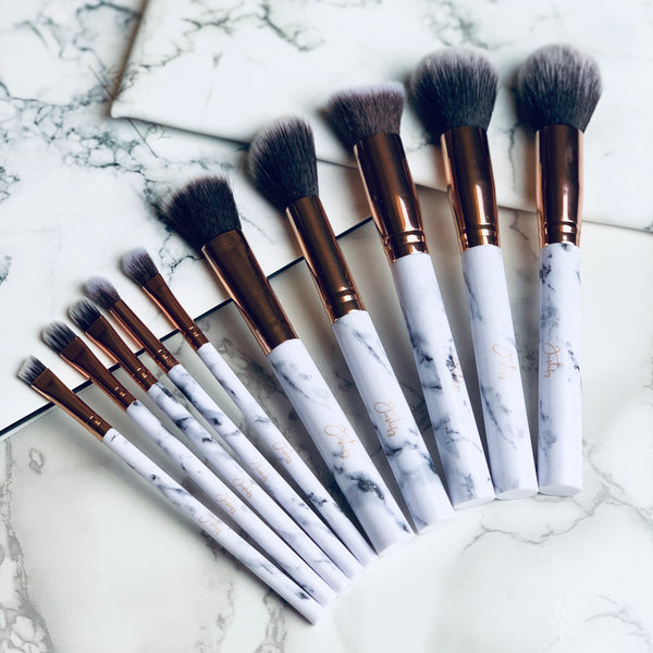 Marble Brush SetJustify Beauty