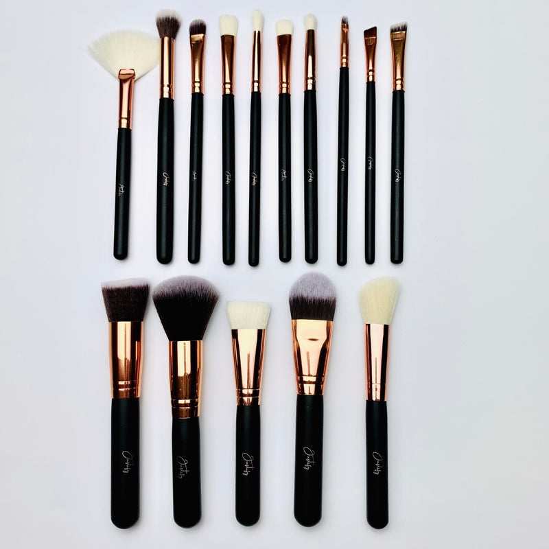 Pro Ultimate Brush Set with CaseBrush SetJustify Beauty